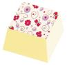 Överföringsark – Rosa blommor