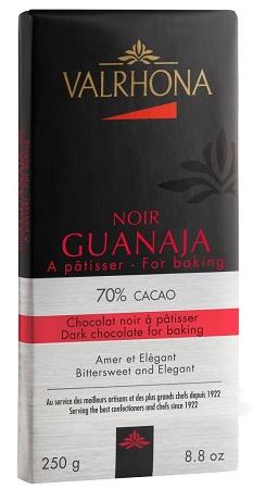 Mörk choklad Guanaja 70%, Valrhona, 250 gram