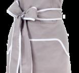 Förkläde, grått