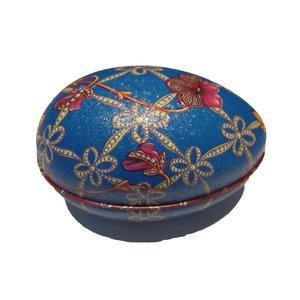 Fabergé ägg blå