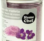 Lila socker med violsmak, 230 g, Sosa