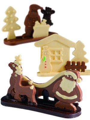 Pralinformar Julen
