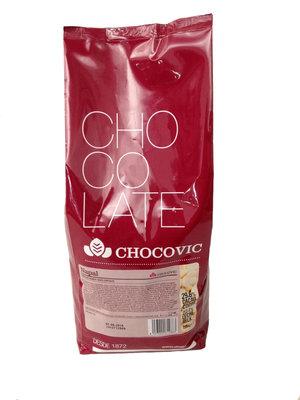 Vit choklad 29,6%, Napal, Chocovic, 1,5 kilo