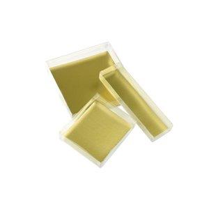 Pralinkartong med guldskiva (ca 12 bitar)
