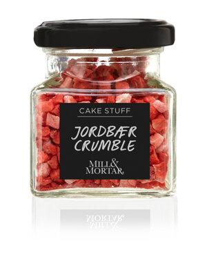 Jordgubbar, tärnade, frystorkade 6 g